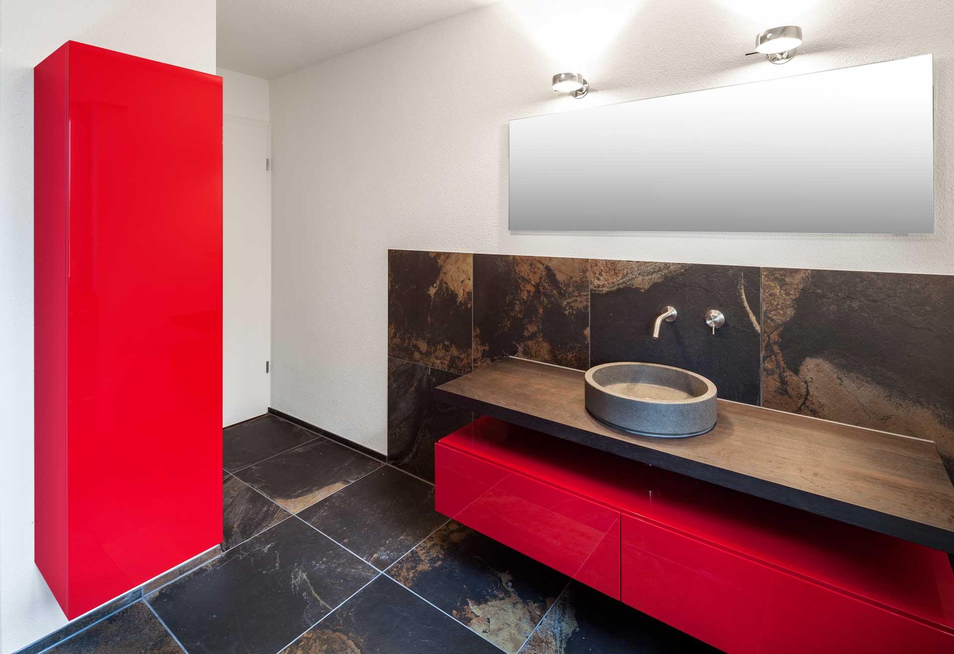 edles badezimmer – schneider innenausbau ag